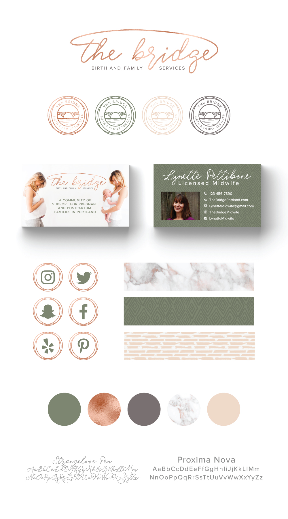 birth doula website design makeover