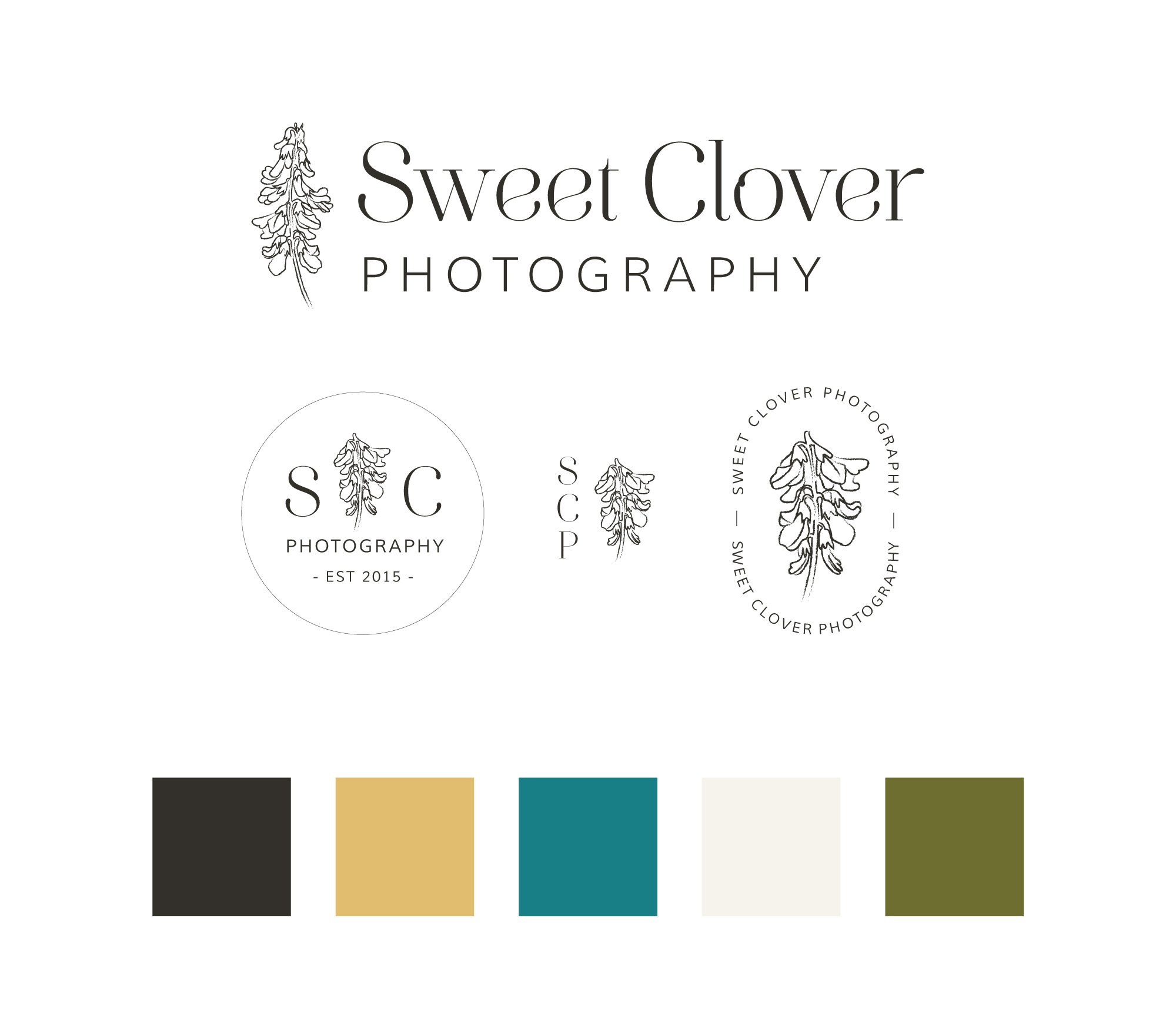 photographer logo design, brand design for photographers