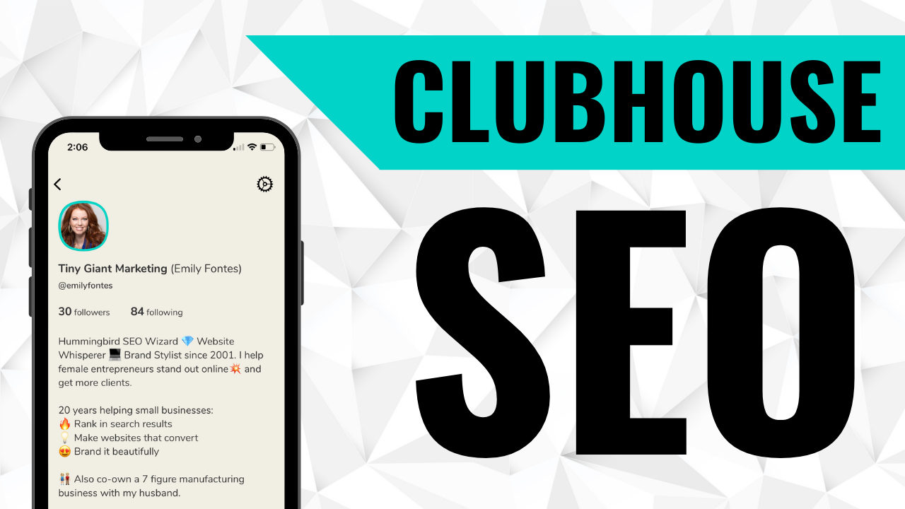 Clubhouse SEO, search engine optimization on Clubhouse